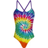 Tie Dye Colors - Tieback One Piece