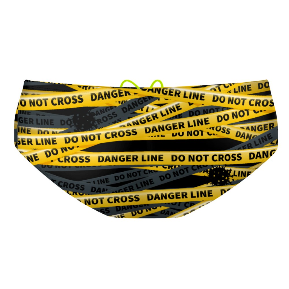 Be safe do not cross Classic Brief