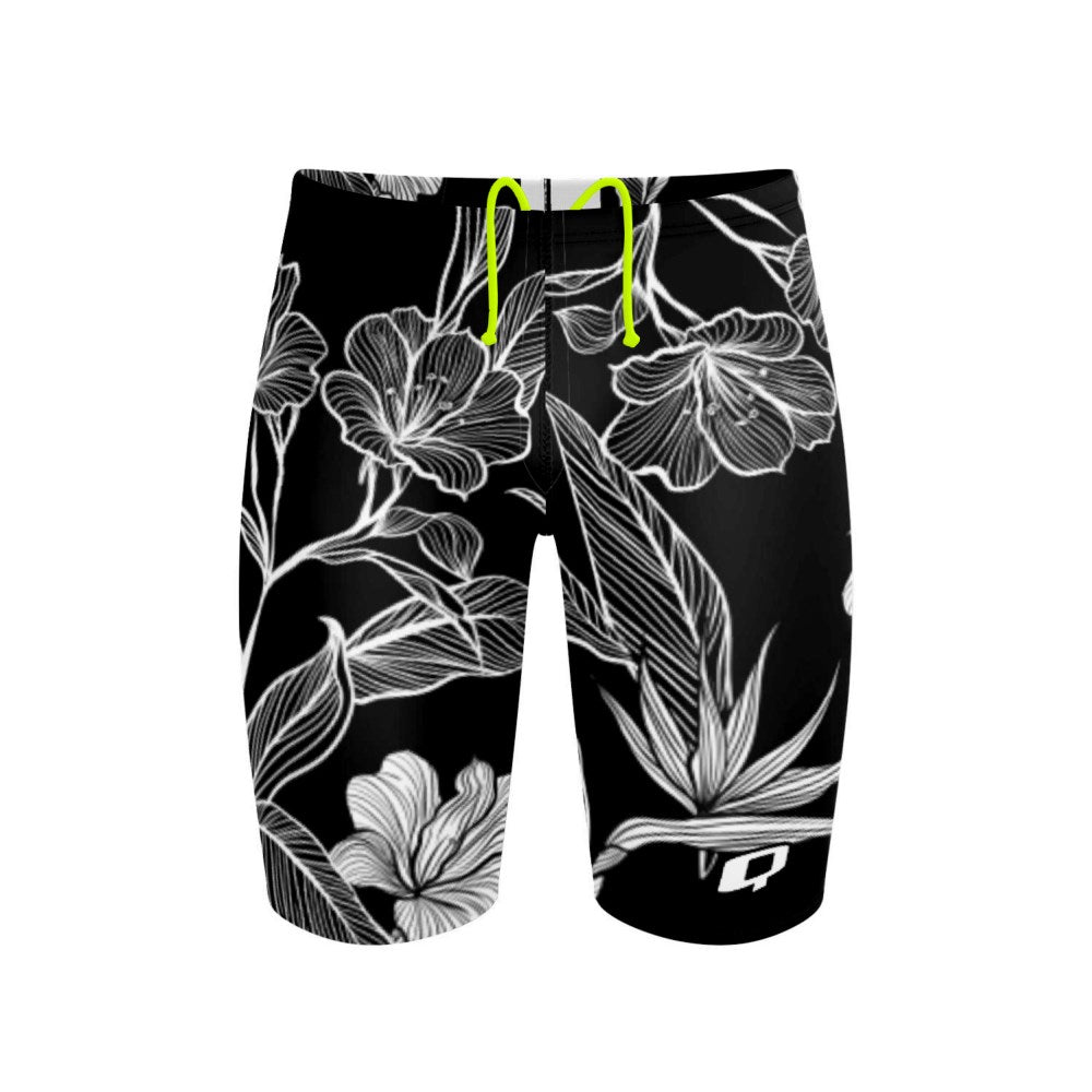 Black and White Flower Jammer