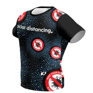 Be safe social distancing Performance Shirt