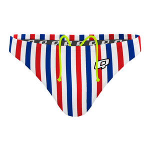 July Stripes - Waterpolo Brief