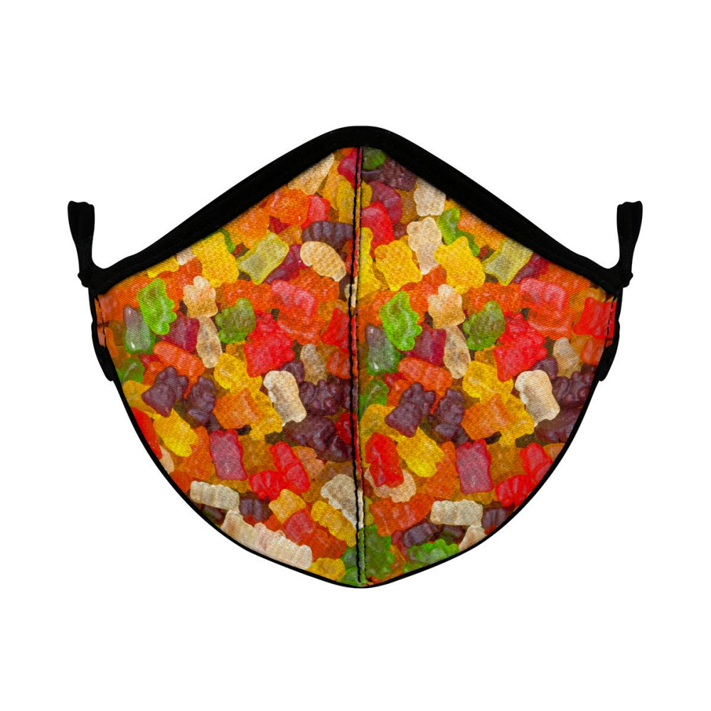 Q Face Mask Little Gummy Bear