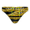 Be safe do not cross Waterpolo Brief