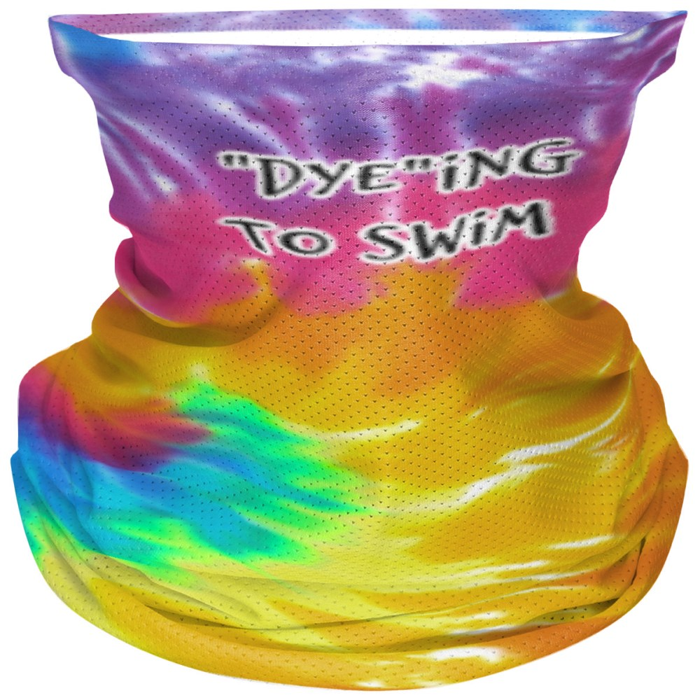 Dyeing to swim - Bandana