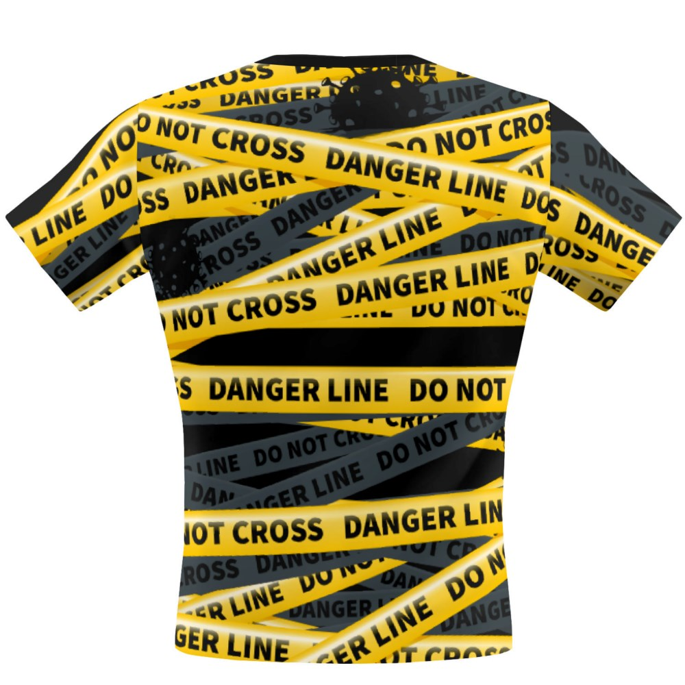 Be safe do not cross Performance Shirt
