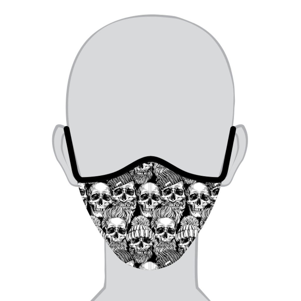 Q Face Mask Heavy Skulls