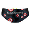 Be safe social distancing Classic Brief