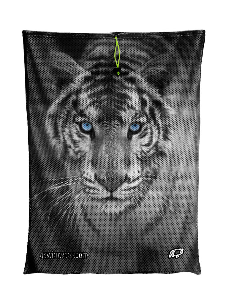 White Tiger Mesh Bag