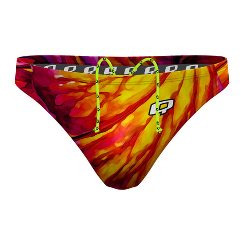 Candy Cane Waterpolo Brief