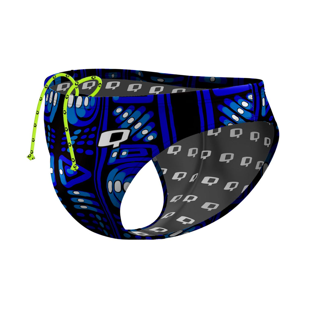 Blue Mud Waterpolo Brief