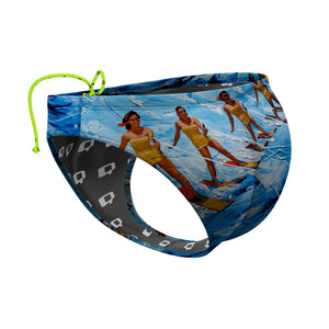 Rough Water Lagoon Waterpolo Brief