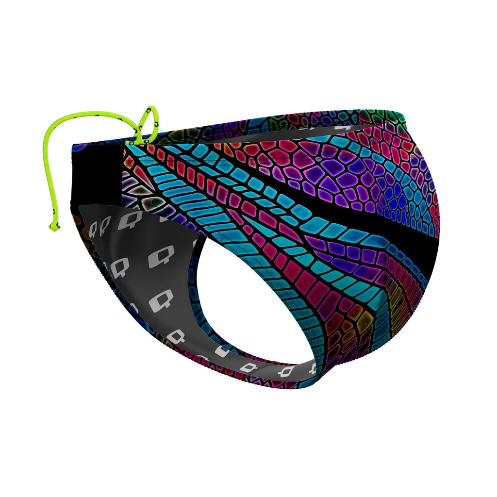 Dragonfly Wings Waterpolo Brief