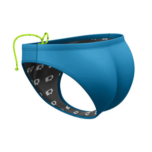 Turquoise Waterpolo Brief Solid