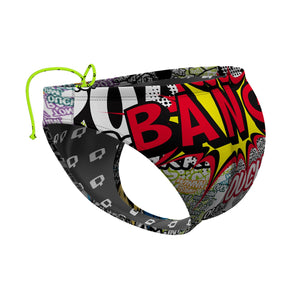 Comic Book Man Waterpolo Brief