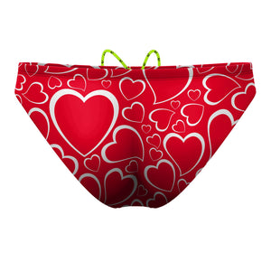 Double Hearted Waterpolo Brief
