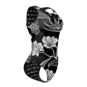 Black and White Flower Waterpolo