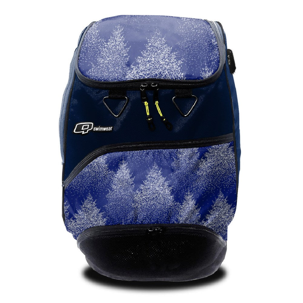Snow Trees - Backpack-NAVY