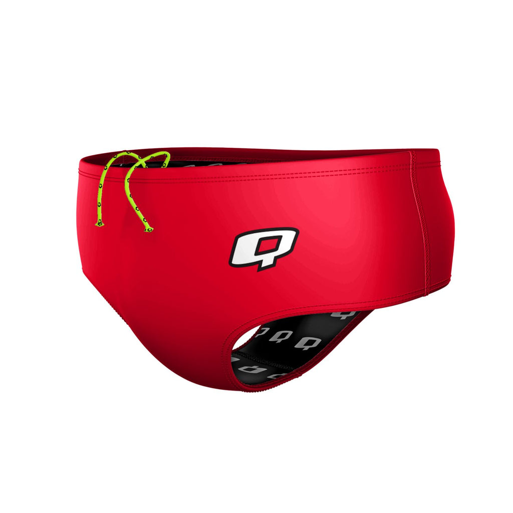 Red Classic Brief Solid