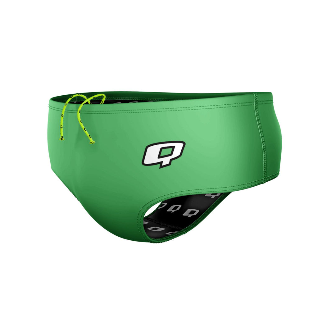 Green Classic Brief Solid