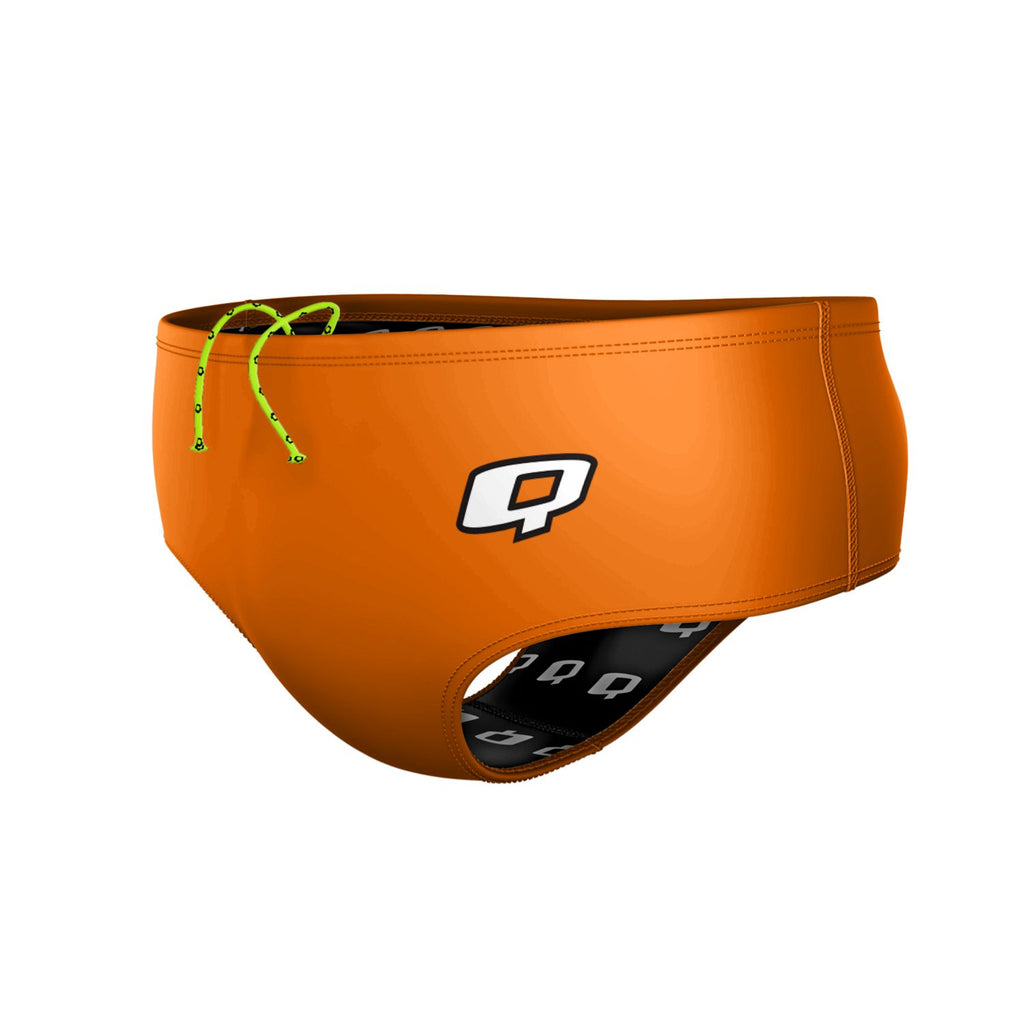 Orange Solid Classic Brief