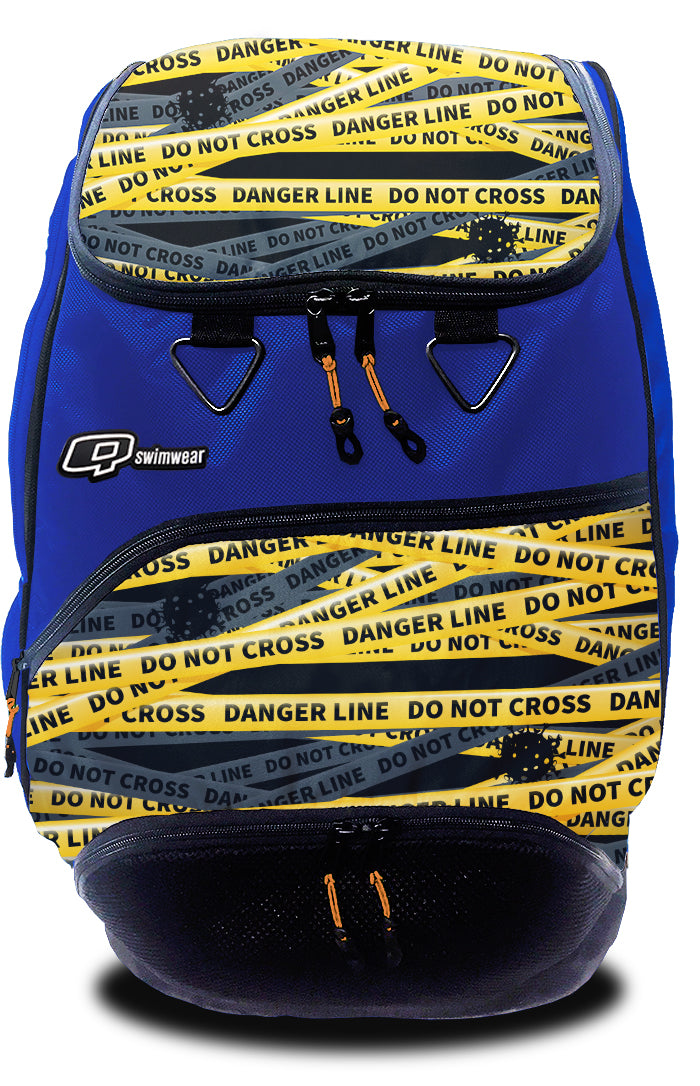 Be Safe Do Not Cross Backpack