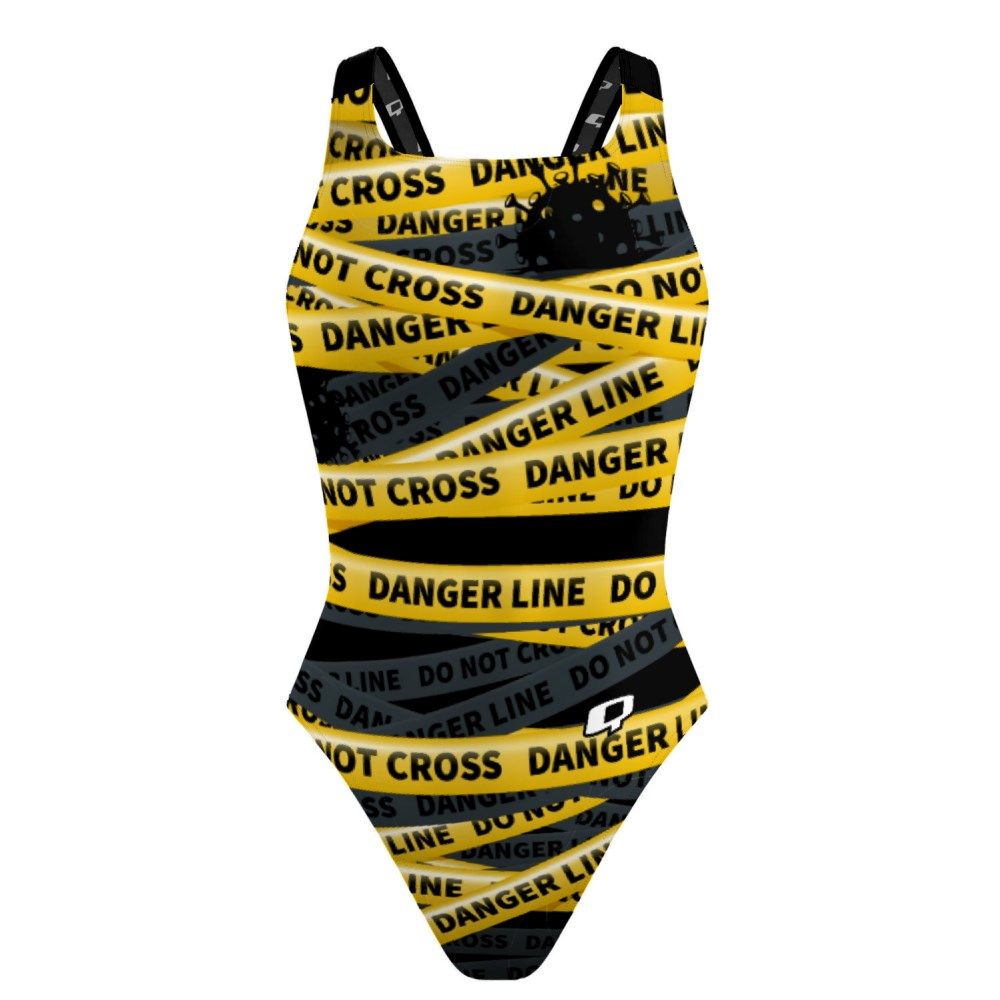Be safe do not cross Classic Strap