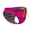 Kaleido Red Waterpolo Brief