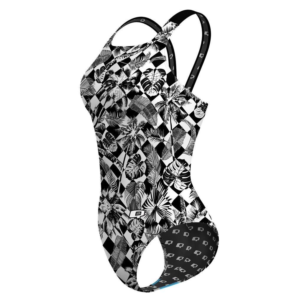 Palm Tree Checkers Classic Strap