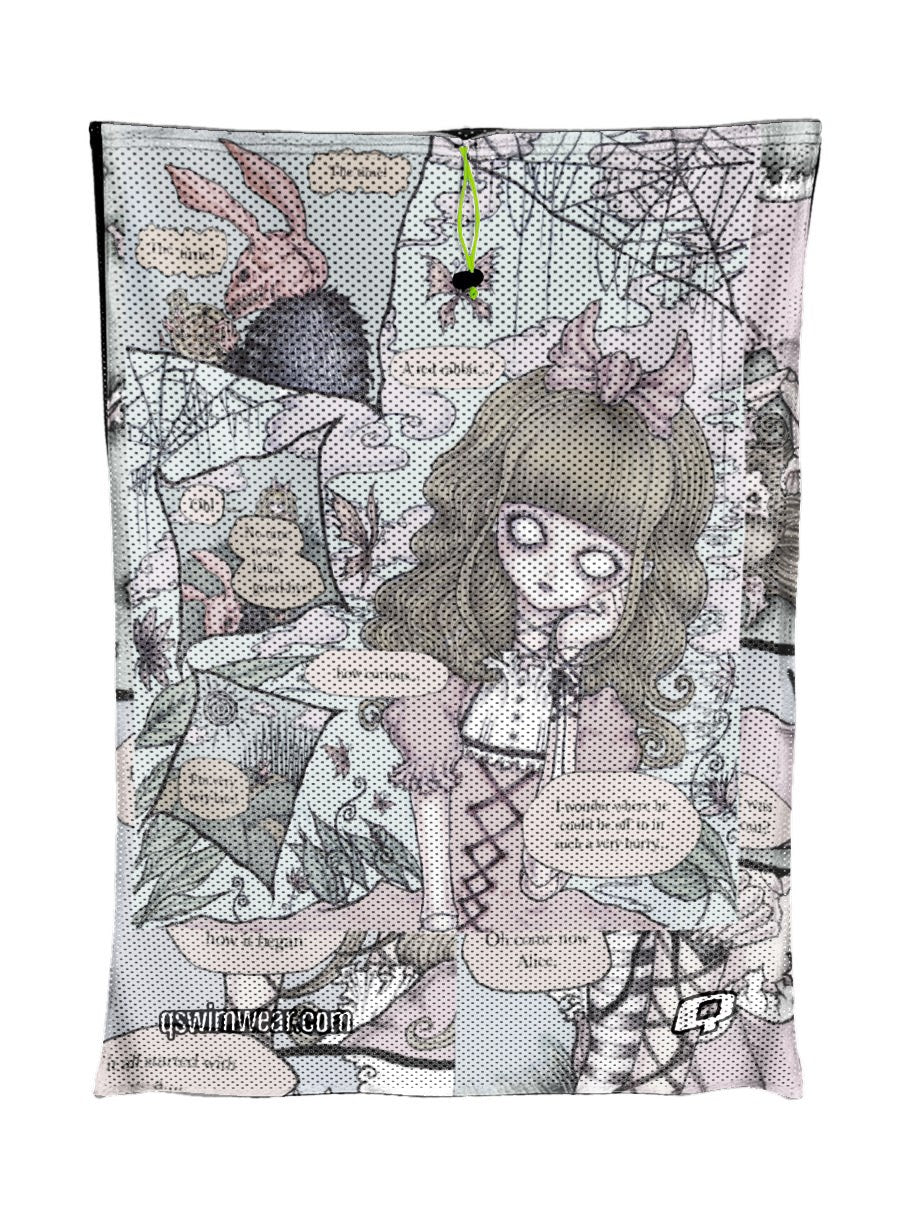 Creepy Little Alice Mesh Bag