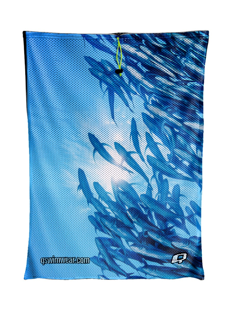 Poissons Libres Mesh Bag