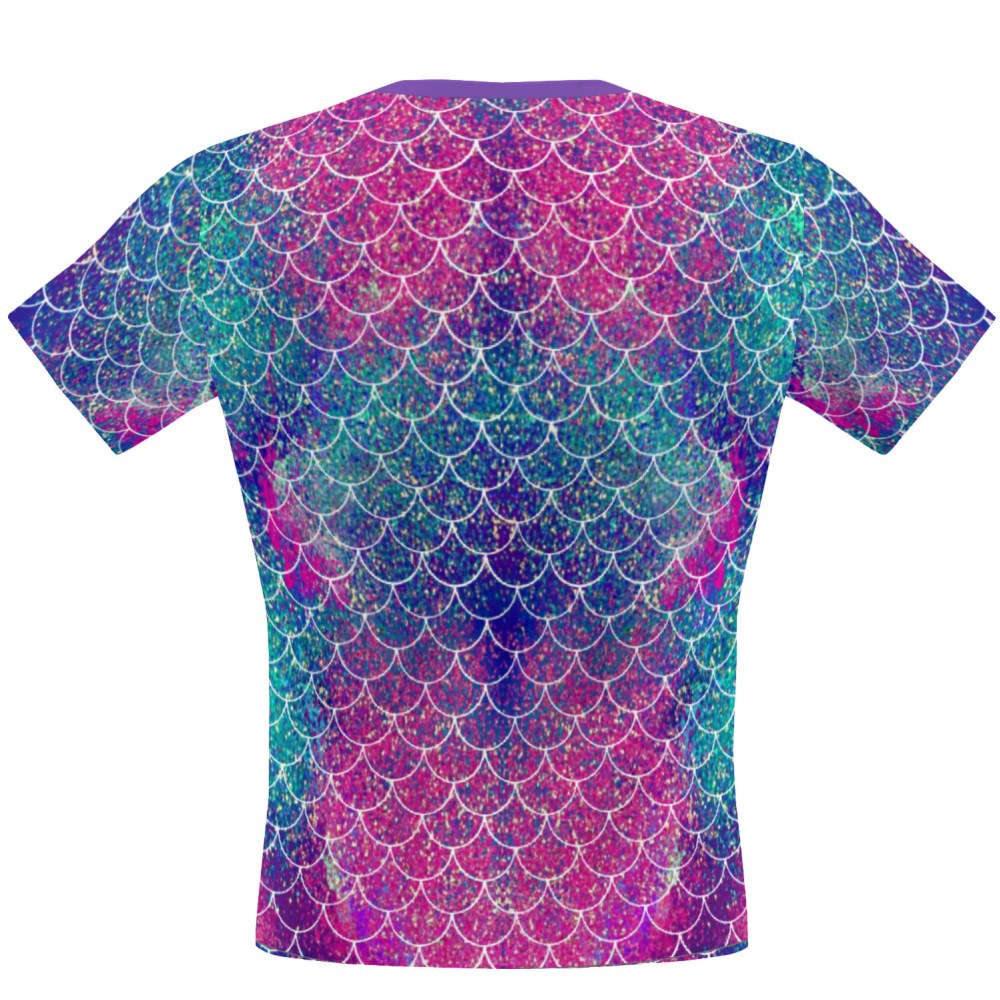 Mermaid Scales Performance Shirt