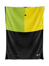 Tricolor Black, Green and Yellow Mesh Bag