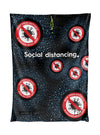 Be safe social distancing Mesh Bag