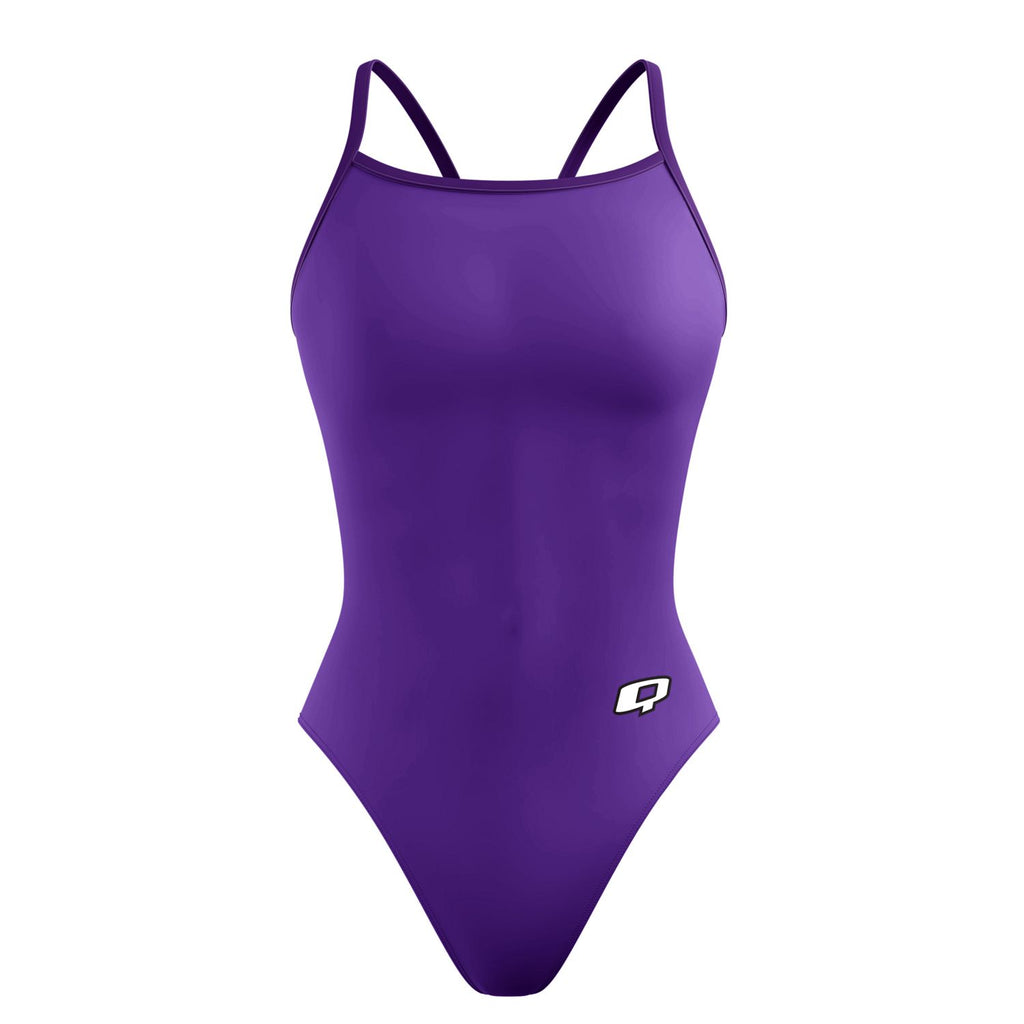 Purple Sunback Tank Solid