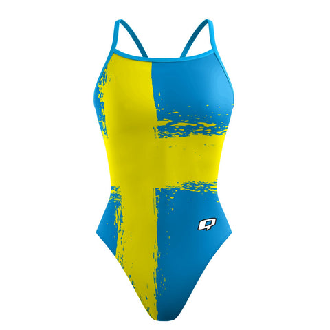 Long Distance Swimming Sunback Tank