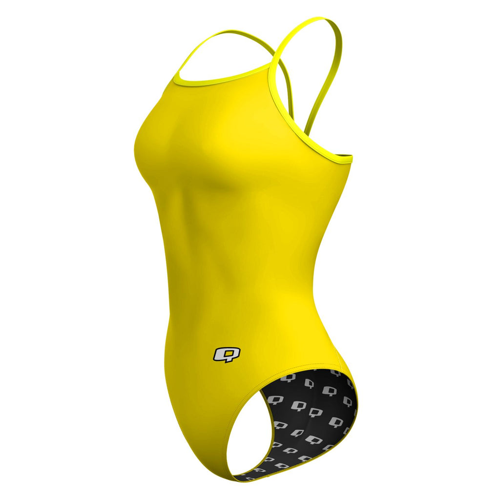 Yellow Solid Sunback Tank