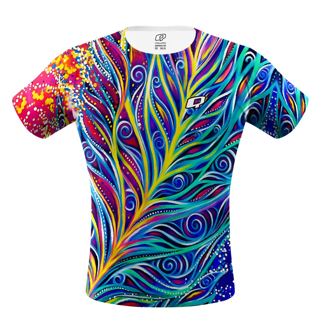 Bird Of Paradise Performance Shirt - Q Swimwear