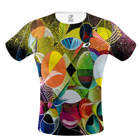 Cosmic Waves Performance Shirt
