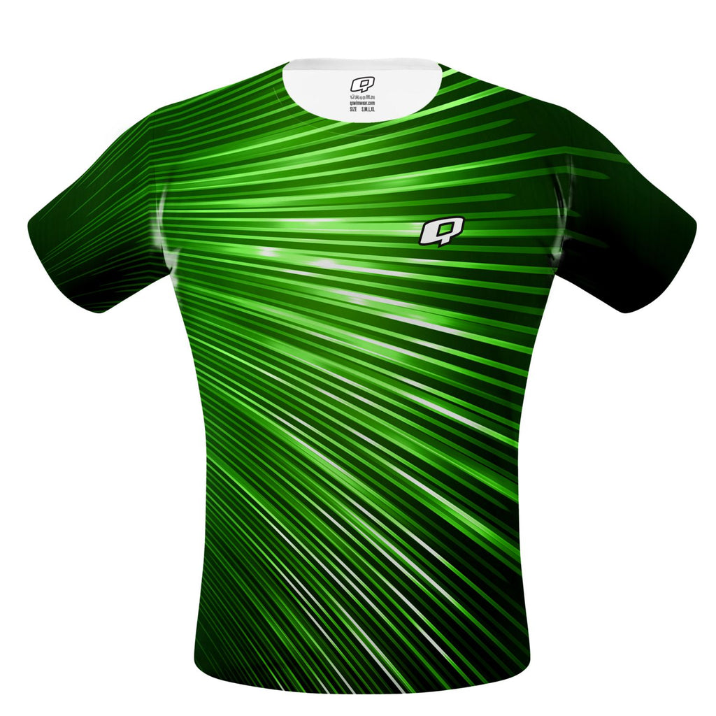 Green Volt Performance Shirt - Q Swimwear