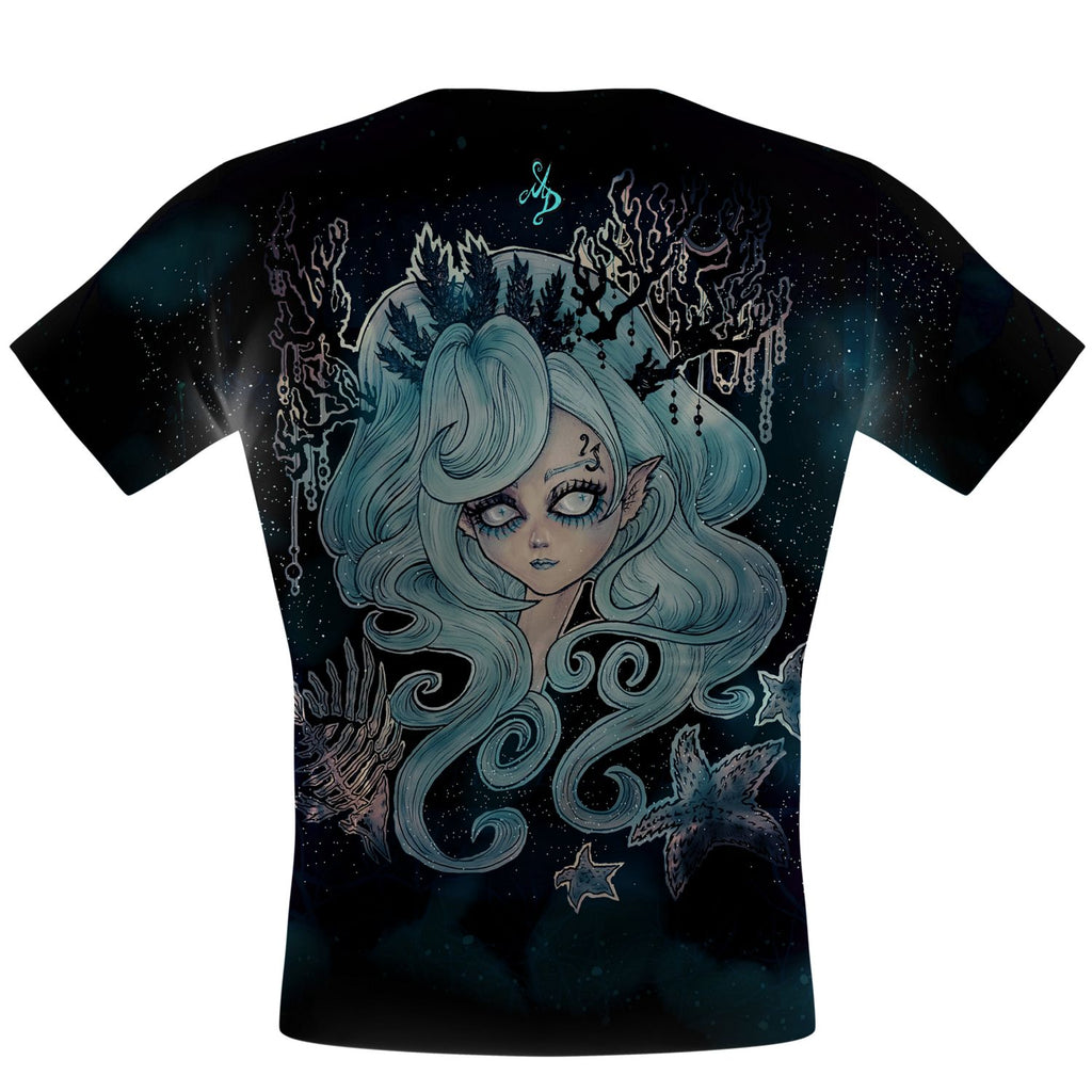 Lulu the Mermaid Performance Shirt - Q Swimwear