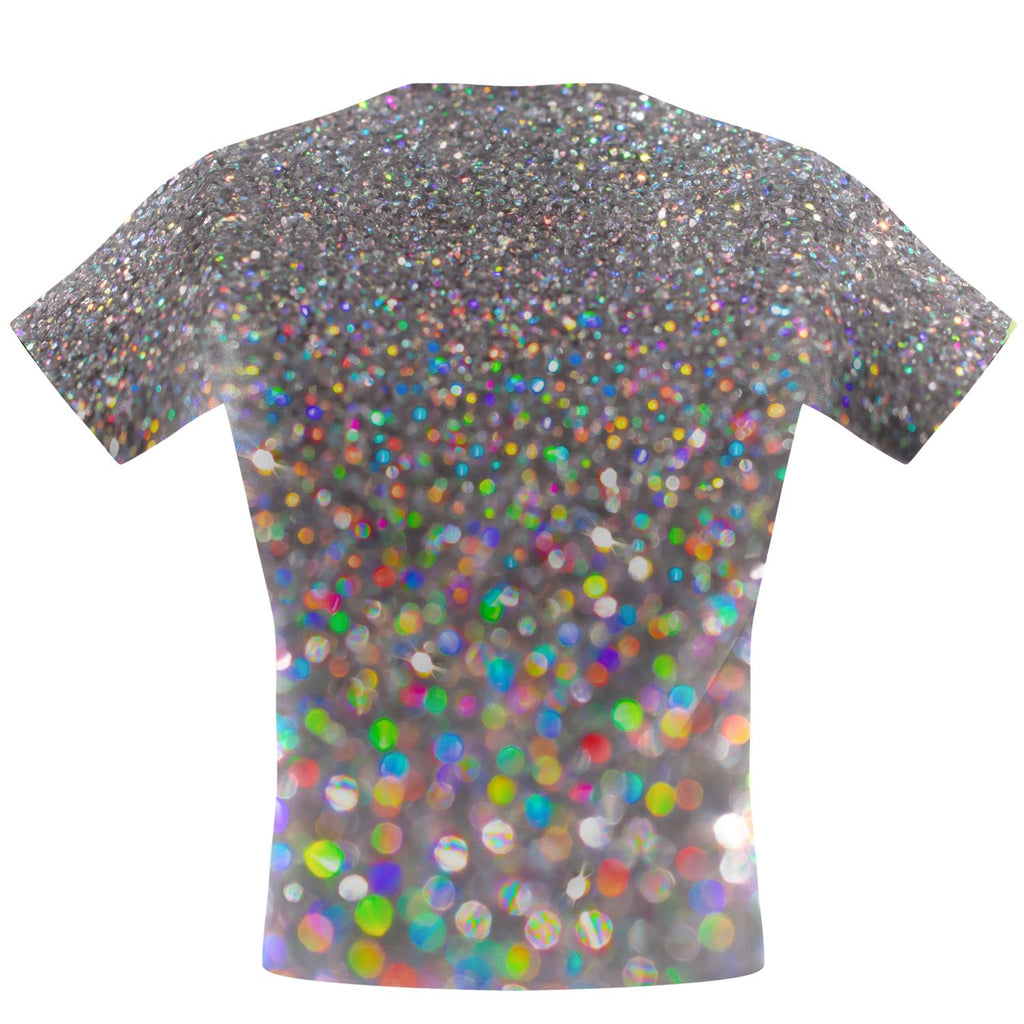 Dipped in Glitter Performance Shirt - Q Swimwear