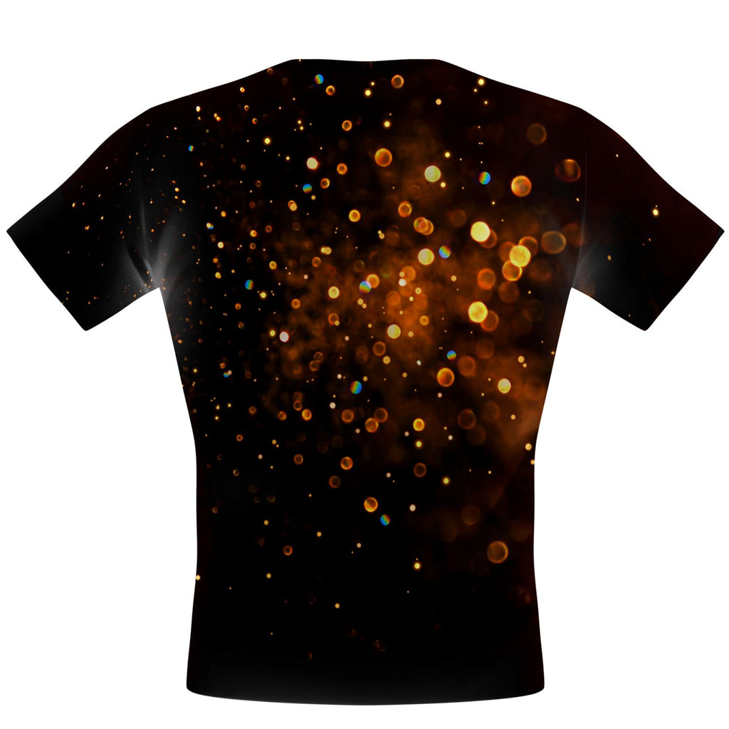 Sparkle Burst Gold Performance Shirt
