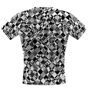 Palm Tree Checkers Performance Shirt