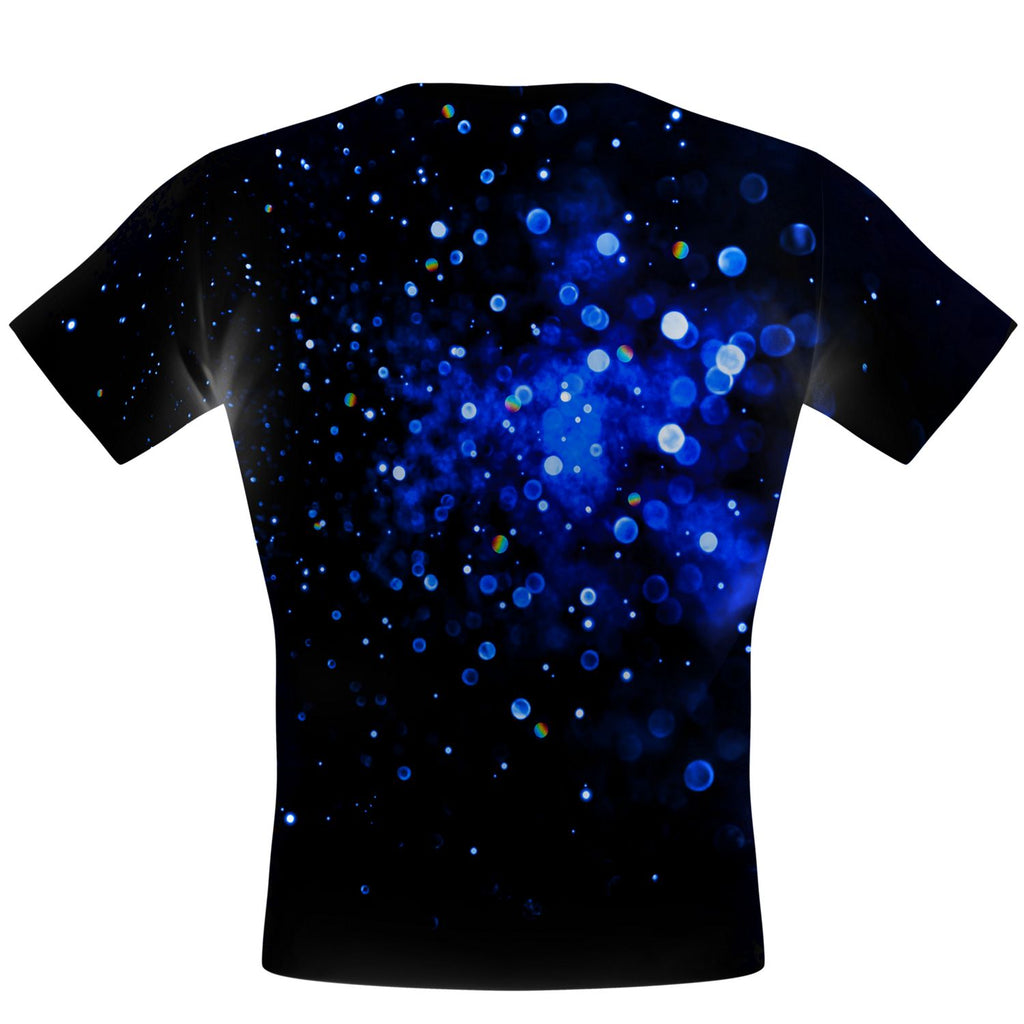 Sparkle Burst Blue Performance Shirt