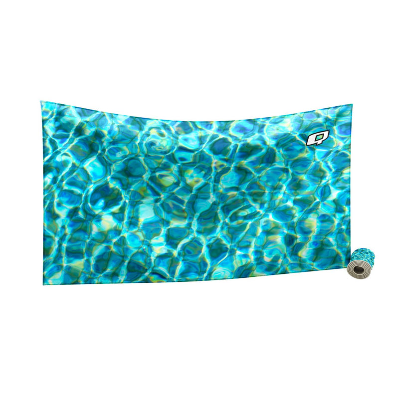 Pool Camo Quick Dry Towel