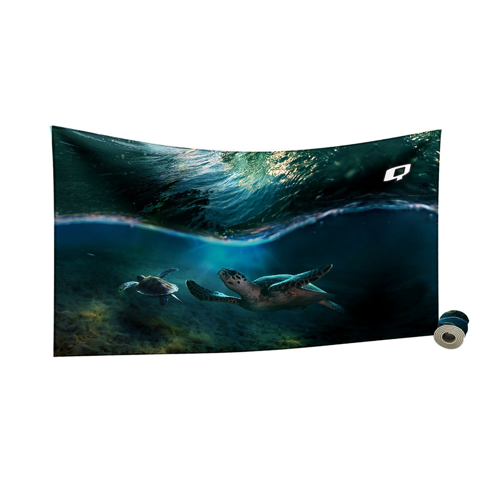 Turtle Cove Quick Dry Towel