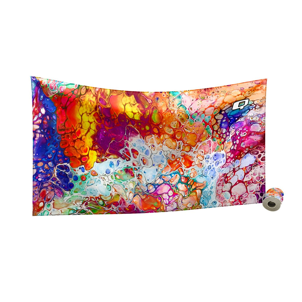 Colors of the Sea Quick Dry Towel