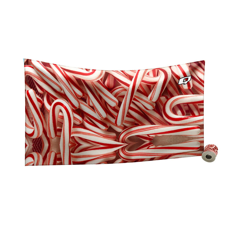 Candy Cane Quick Dry Towel