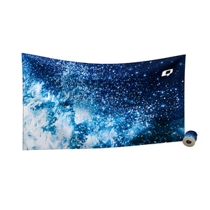 Cosmic Waves Quick Dry Towel