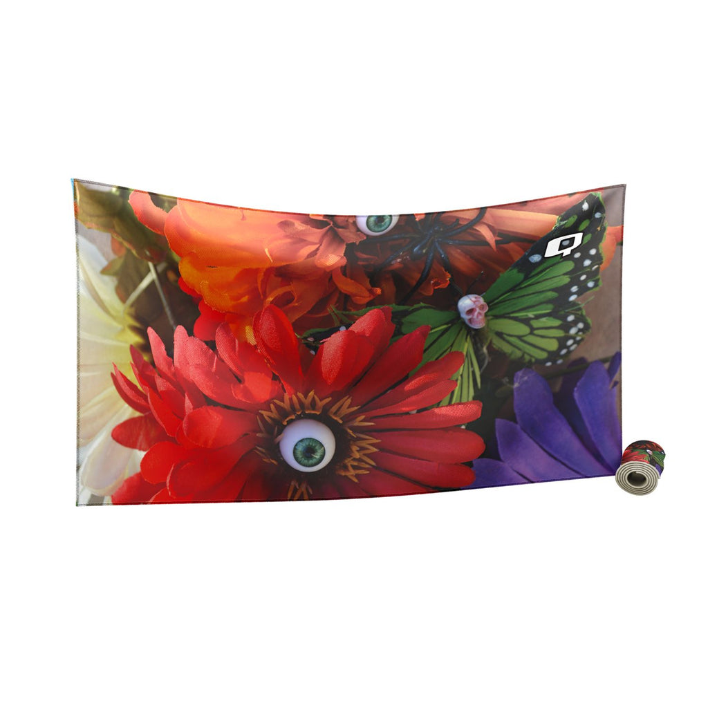 Oculary Flowers Quick Dry Towel